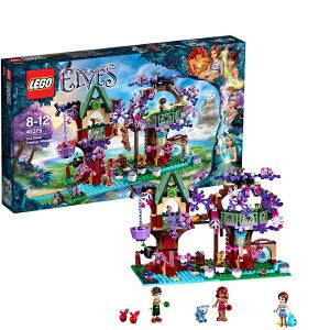 [当当自营]LEGO 乐高 Elves精灵系列 精灵们的树顶隐居屋 积木拼插儿童益智玩具 41075