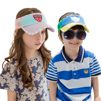 儿童空顶帽夏天男1-2岁 宝宝遮阳帽 儿童帽子女鸭舌帽4-8岁潮