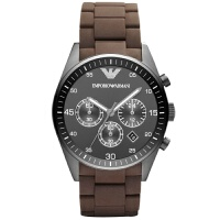 Armani阿玛尼 时尚商务塑钢三眼男士腕表 AR5990