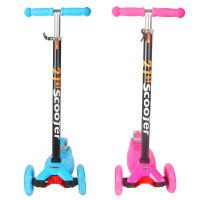 瑞士儿童滑板车三轮四轮宝宝小孩礼物滑滑车踏板车折叠童车 AF25445