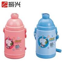 振兴 SH420 学生水壶/儿童水杯/保暖水壶/吸管杯/带盖口杯 颜色随机 500ML