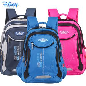 迪士尼小学高年级-初中男女米奇儿童休闲书包初中生双肩书包