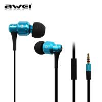 【正品包邮】Awei/用维 ES-500I 音乐入耳式电脑手机mp3游戏运动面条耳塞耳机