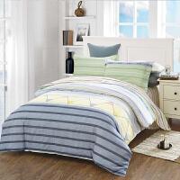 当当优品家纺 纯棉斜纹印花床品 双人床单四件套 奇彩绽放