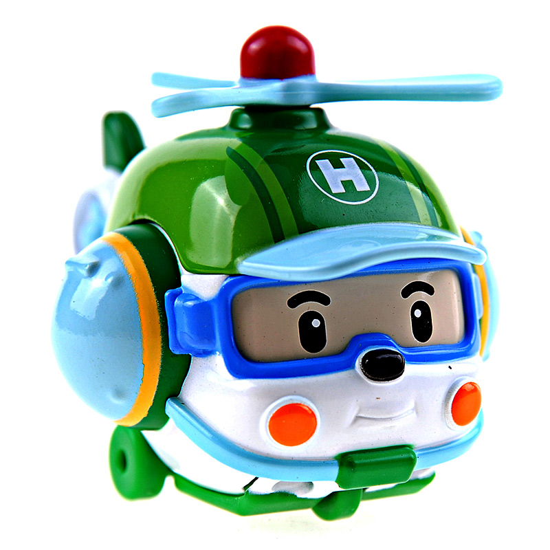 [当当自营]Silverlit 银辉 POLI系列 海利直升机(合金版) SVPOLI83160STD【当当自营】70mm的合金模型,精美的收藏礼品