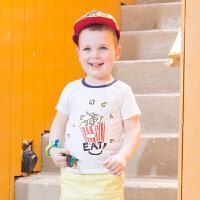 【5.25巴拉巴拉超级品牌日】巴拉巴拉男童短袖t恤小童宝宝上衣童装夏装儿童T恤男