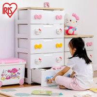 爱丽思IRIS hellokitty收纳柜整理柜抽屉柜宝宝衣柜婴儿柜KHG-555