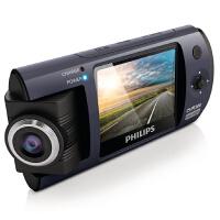 飞利浦行车记录仪CVR300 高清夜视 迷你1080P 180度旋转摄像头 1200像素 2.0 英寸显示屏