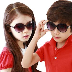 韩国儿童眼镜小孩眼镜宝宝眼镜防紫外线男女儿童太阳镜墨镜正品潮