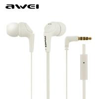 【正品包邮】Awei/用维 Q6I 面条入耳式 带麦重低音电脑手机降噪hifi苹果耳机