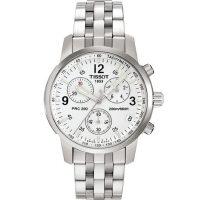 天梭(TISSOT)手表200米超高防水性能户外男士石英手表T17.1.586.32
