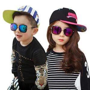 kocotree儿童太阳镜男童女童个性亲子儿童墨镜学生小孩宝宝眼镜