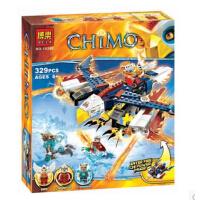 博乐 气功传奇赤马鹰杰斯的烈焰鹰隼FX机益智拼装玩具