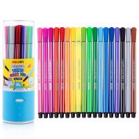 【当当自营】得力(deli) 7066 绚丽多彩可洗水彩笔/绘画笔 18色/筒 包装颜色随机
