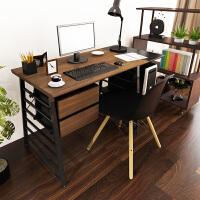 择木宜居 现代简约变形电脑桌 台式电脑桌 家用书桌书柜组合 简约办公桌写字台