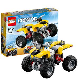 [当当自营]LEGO 乐高 CREATOR创意百变系列 四轮越野摩托 积木拼插儿童益智玩具 31022
