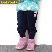 巴拉巴拉balabala童装 女童长裤幼童宝宝裤子 2015儿童冬装新款