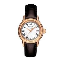 瑞士天梭TISSOT卡森石英女表T085.210.36.013.00皮带手表