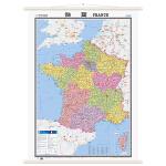 世界分国地图挂图——法国地图挂图(1170mm*860mm)