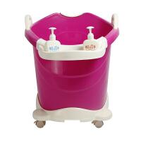 大号洗澡桶 婴儿筒大澡盆宝宝浴盆儿童澡盆 宝宝泡澡桶