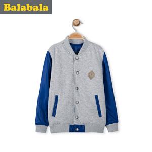 巴拉巴拉童装男童外套中大童上衣春装儿童短款休闲外套男