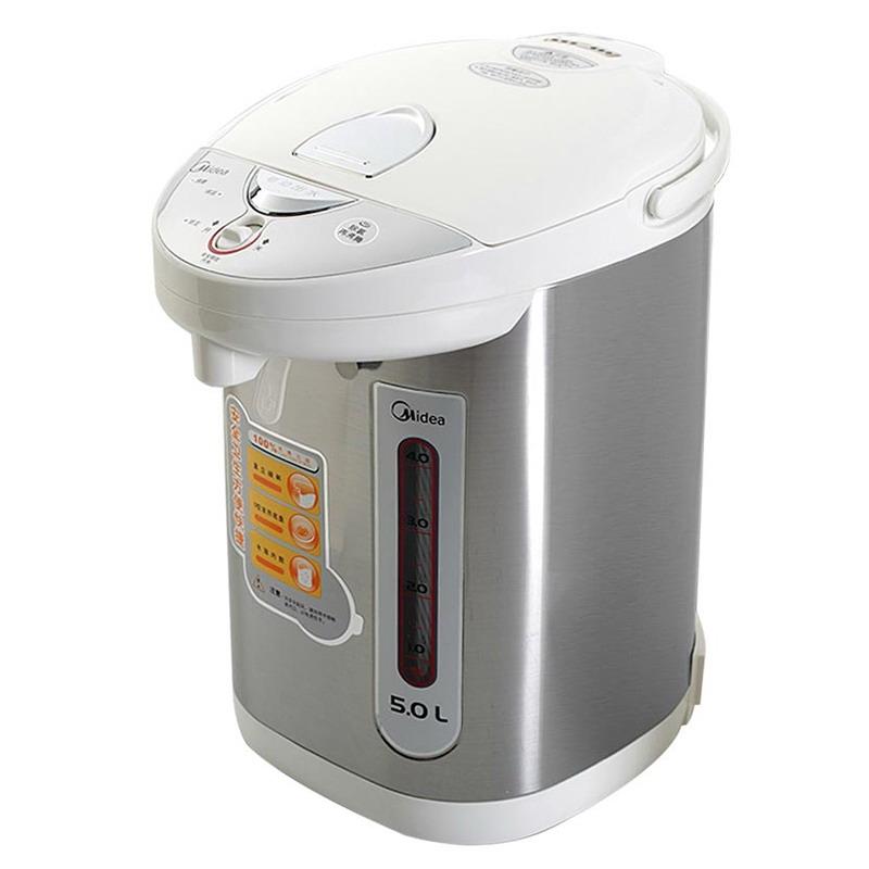 Midea 美的 电热水瓶PD105-50G 304不锈钢电水壶 烧水壶