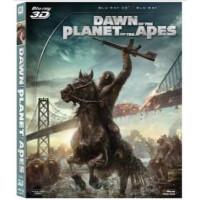 电影 3D 猩球崛起2 黎明之战 蓝光碟 3D BD50