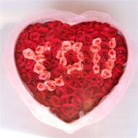 【花语叶情】鲜花速递99支玫瑰礼盒送爱人 送闺蜜 送朋友 节日鲜花 生日礼品鲜花 北京 上海 广州 武汉全国同城鲜花速递
