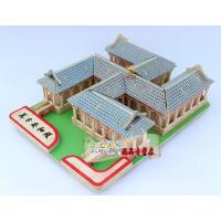 3d木制立体拼图拼板成人拼装智力拼图积木玩具木制手工diy木模型