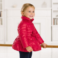 davebella戴维贝拉女童冬季新款宝宝婴儿保暖羽绒服【限时折扣169元】