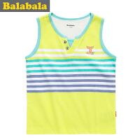 巴拉巴拉balabala童装男幼童背心幼童宝宝儿童夏装新款