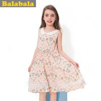 巴拉巴拉balabala女童连衣裙夏装新款童装