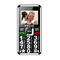 [礼品卡]老人手机 福中福 F669 老人手机 大字体老人手机 直板老人机 语音播报老人手机 移动老人手机 联通老人手机