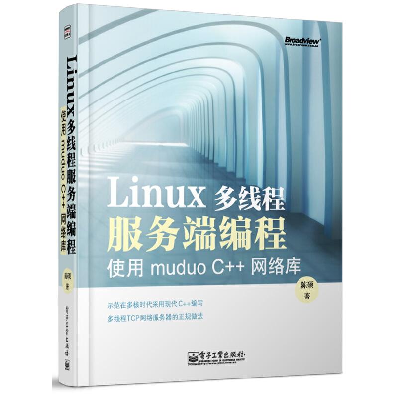 Linux多线程服务端编程:使用muduo C++网络库(写给每一位C++程序员,功力为证,集编程思想、经验之大成)