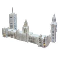 木质拼图玩具成人立体拼图建筑模型 智力玩具手工拼装英国大笨钟