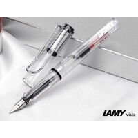 德国原装LAMY凌美钢笔 vista自信EF尖 F尖 M尖 凌美钢笔 透明钢笔