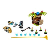 [当当自营]LEGO 乐高 Chima气功传奇 香蕉猛攻 积木拼插儿童益智玩具 70136