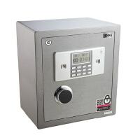 得力保险柜 家用/办公电子液晶保险箱 3613型3C认证双层保管箱