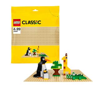 [当当自营]LEGO 乐高 CLASSIC经典创意系列 沙色底板 积木拼插儿童益智玩具 10699