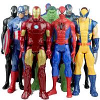 复仇者联盟钢铁侠蜘蛛侠美国队长玩具人偶可动手办模型