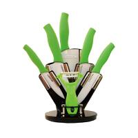 [当当自营]lazee莱滋彩色手柄陶瓷刀陶瓷削皮器家用厨房礼盒六件套(颜色随机)LZ-01