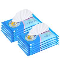 【当当自营】五羊 婴儿护肤柔湿巾10片×10包 宝宝湿纸巾