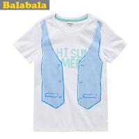 巴拉巴拉男童中大童短袖T恤夏装童装上衣