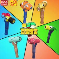 猪猪侠五灵锁 光明守卫者新款声光手表套装 武林锁全套儿童玩具