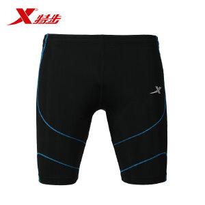 【顺丰包邮】特步 运动跑步锻炼健身舒适弹力男紧身裤