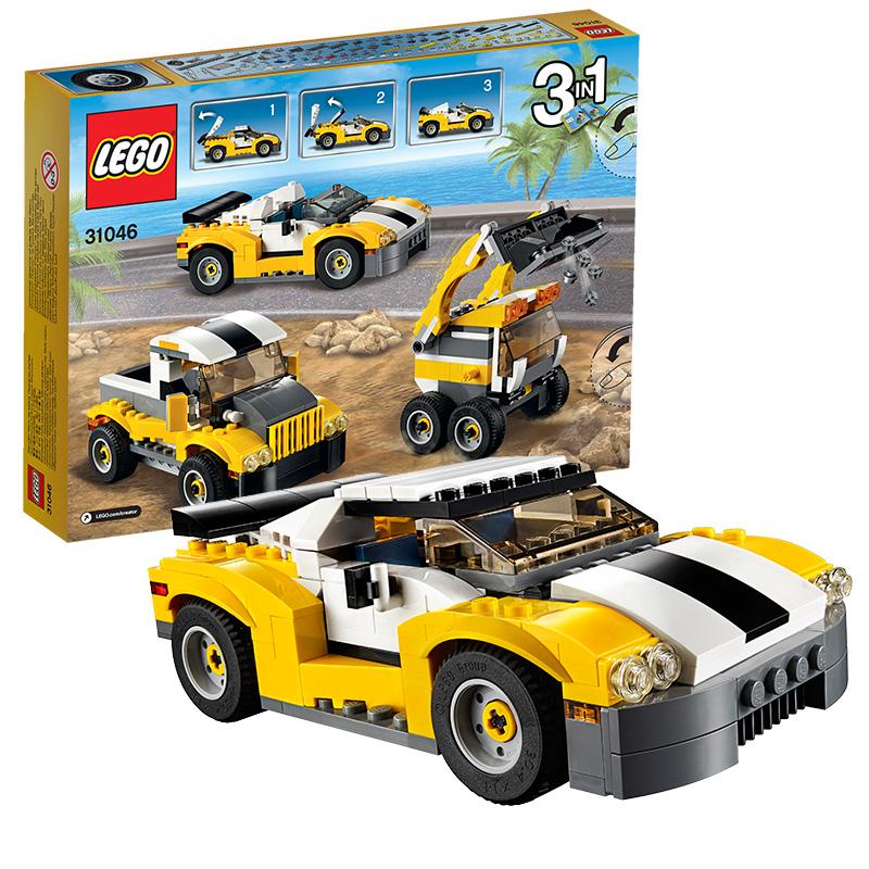 [当当自营]LEGO 乐高 创意百变系列 高速跑车 积木拼插儿童益智玩具 31046【当当自营】2016年新品!适合7-12岁,222pcs小颗粒积木
