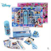 【开学必备文具】新年礼品迪士尼学生男童女童文具礼盒套装儿童礼物学习用品保温杯 包邮