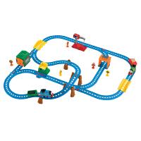 [当当自营]托马斯和朋友 电动火车系列 多多岛百变轨道套装 CGW29