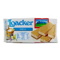 [当当自营] 奥地利进口 莱家 Loacker 莱家牛奶味夹心威化 45g