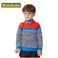 【6.26巴拉巴拉超级品牌日】巴拉巴拉童装男童毛衫幼童宝宝上衣2015儿童冬装